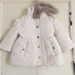 Janie and Jack 18/24 Baby Winter Fall Hooded Coat